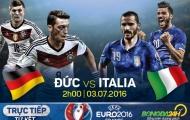 Đức 1-1 Ý (Pen 6-5 )