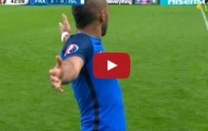 Dimitri Payet chơi rất hay trong trận Pháp 5-2 Iceland