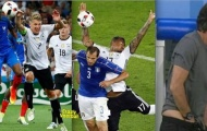 Schweinsteiger và Giroud bị ghép ảnh chế giễu