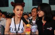 Phỏng vấn hot girl Quỳnh Nhi trong đêm chung kết EURO