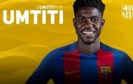 Chính thức: Barca sở hữu thành công Umtiti