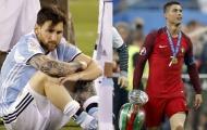 Lá thư gây lốc xoáy của Ronaldo cho Messi