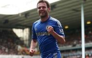 Juan Mata khi còn khoác áo Chelsea