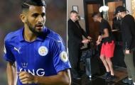 Mahrez trốn đến khách sạn Chelsea, nói chuyện với Conte?