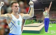 Xem bài thi lạ đời của VĐV TDDC Ukraina tại Olympic Rio 2016