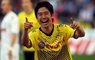 Shinji Kagawa từng rất bùng nổ trong màu áo Dortmund