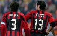 Nghệ thuật phòng ngự với bộ đôi Maldini - Nesta