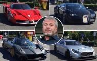 Ông chủ Chelsea Roman Abramovich khoe dàn siêu xe 8,5 triệu bảng