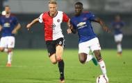 Màn trình diễn của Eric Bailly vs Feyenoord