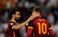 01h45 ngày 19/09, Fiorentina vs AS Roma: Vẫn cần Totti