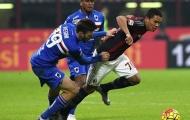 Bacca tỏa sáng, Milan thoát hiểm phút cuối
