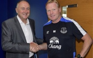 Ronald Koeman và quá trình hồi sinh Everton: Hiệu ứng Domino