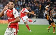 Sanchez cú đúp, Xhaka siêu phẩm, Arsenal thắng đậm 10 người Hull City