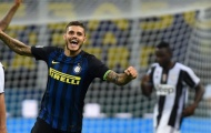 Mauro Icardi chơi cực hay, làm khổ hàng thủ Juventus