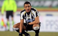 Alexis Sanchez khi còn tung hoành ở Serie A