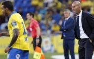 Hàng thủ Real làm Zidane đau đầu