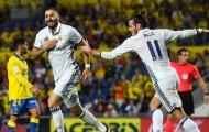 Las Palmas 2-2 Real Madrid (Vòng 6 La Liga)