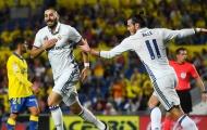 Mất điểm trước Las Palmas, Zidane quyết thử nghiệm song sát mới