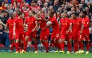 Milner lập cú đúp phạt đền, Liverpool làm thịt 10 người Hull City