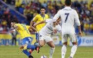 Ronaldo giận dữ, Real sa lầy tại Las Palmas