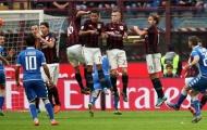 Công làm thủ phá, Milan may mắn lội ngược dòng Sassuolo