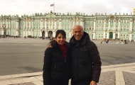 Được dịp nghỉ, Zidane đưa vợ đi du lịch