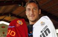 Totti tiết lộ điểm đến duy nhất nếu rời Roma