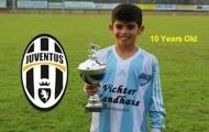 Juventus chiêu mộ cầu thủ 10 tuổi qua... Youtube