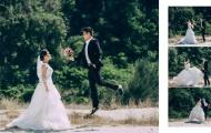 Ảnh cưới lãng mạn của cựu tiền vệ U23 Việt Nam và bạn gái