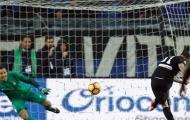 Dính phạt đền ở phút cuối, Inter gục ngã ngay trên sân khách