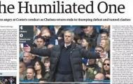 Báo Anh mỉa mai Mourinho 'bị làm nhục'