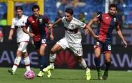 Hàng công im tiếng, Milan thảm bại trước Genoa