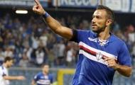 Lão tướng lập công, Sampdoria vượt qua Inter Milan đầy kịch tính