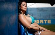 Daniela Cavalieri, cô vợ siêu nóng bỏng của thủ thành Fluminense
