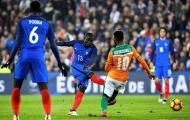 Thống kê ấn tượng của N'Golo Kante trong trận Pháp 0-0 Bờ Biển Ngà