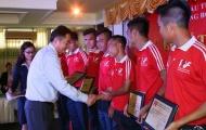 Thành viên U19 Việt Nam tốt nghiệp lò PVF loại ưu