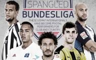 Chuyện những ngôi sao Mỹ đang tung hoành ở Bundesliga 16/17