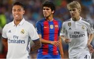 Những cầu thủ trẻ đáng mong chờ nhất của Real Madrid và Barca