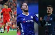 5 ngôi sao đẳng cấp thế giới có thể cập bến Real Madrid hoặc Barcelona