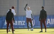 Tập quá hăng, Robben bị chảy máu mũi ngay trên sân