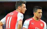 Arsenal sẽ tốn tới 150 triệu bảng để 'trói' Oezil và Sanchez