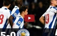 FC Porto 5 - 0 Leicester City (vòng bảng Champions League)