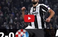 Juventus 2 - 0 Dinamo Zagreb (vòng bảng Champions League)