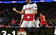 Tottenham Hotspur 3 - 1 CSKA Moscow (vòng bảng Champions League)