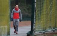 Chùm ảnh: Per Mertesacker trở lại, Arsenal tập luyện chuẩn bị giáng sinh