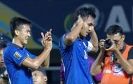 Teerasil Dangda sánh vai Công Vinh ở AFF Cup