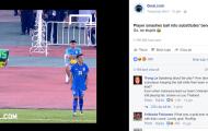 Báo nước ngoài chế nhạo pha trả đũa của cầu thủ Indonesia