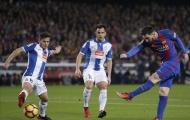 Barcelona 4-1 Espanyol: Derby của Messi