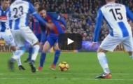 Pha rê bóng như đá PES của Lionel Messi vs Espanyol