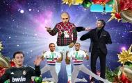 Bài hát giáng sinh cực hay về Benzema